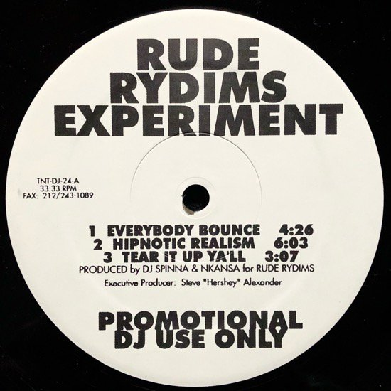 RUDE RYDIMS / RUDE RYDIMS EXPERIMENT (PROMO)
