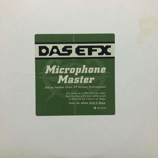 DAS EFX / MICROPHONE MASTER (1995 US ORIGINAL PROMO)