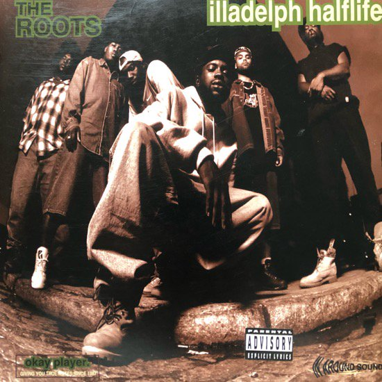 THE ROOTS / ILLADELPH HALFLIFE (1996 US ORIGINAL)