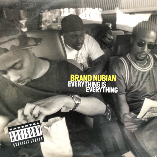 BRAND NUBIAN / EVERYTHING IS EVERYTHING (1996 US ORIGINAL)