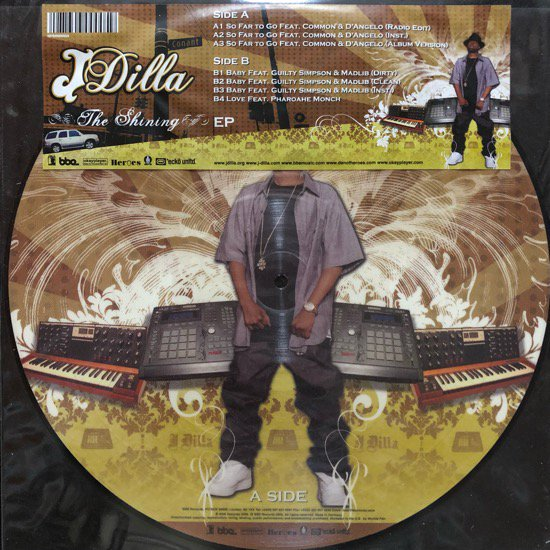 J DILLA / THE SHINING EP