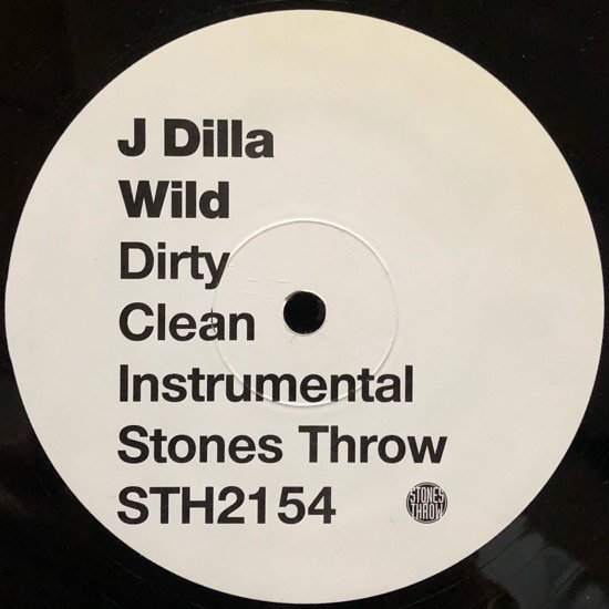 J DILLA / WILD b/w MAKE 'EM NV (2007 US ORIGINAL)