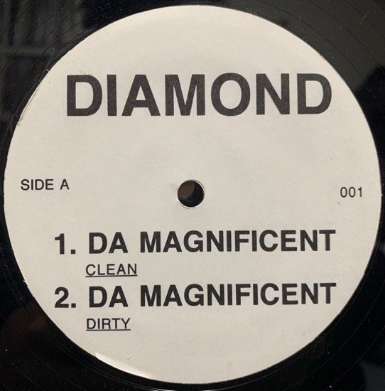 DIAMOND / DA MAGNIFICENT (US Promo Only)