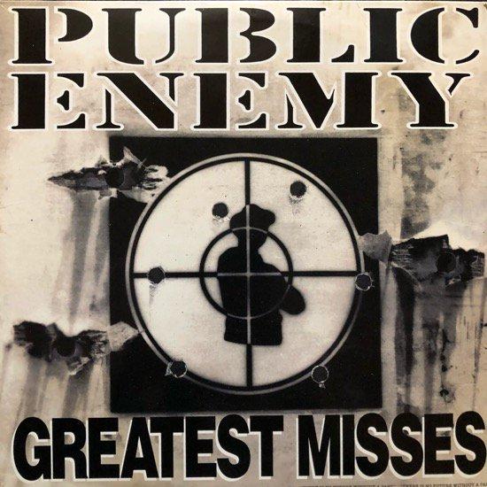 PUBLIC ENEMY / GREATEST MISSES (1992 US ORIGINAL)