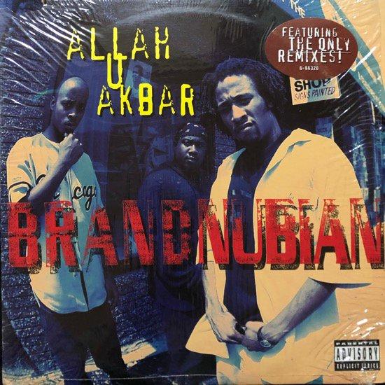 BRAND NUBIAN / ALLAH U AKBAR (93 US ORIGINAL )