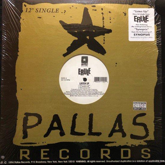 ERULE / LISTEN UP b/w SYNOPSIS (1994 US ORIGINAL)