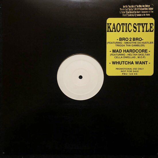 KAOTIC STYLE / BRO 2 BRO / MAD HARDCORE b/w WHUCHA WANT (1995 US ORIGINAL)