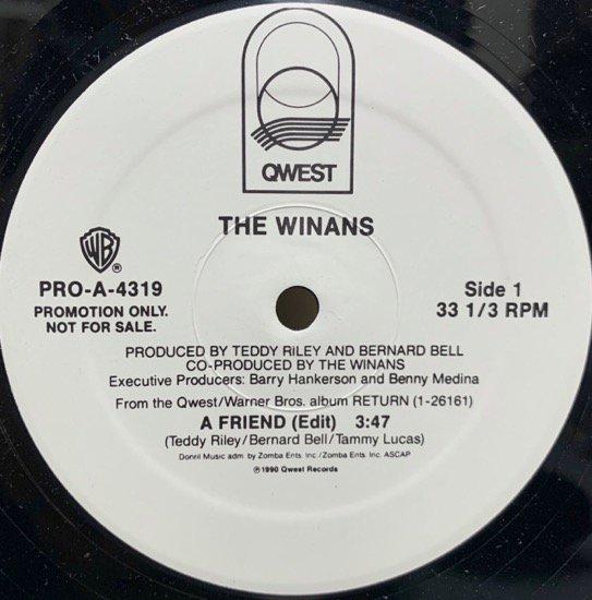 THE WINANS / A FRIEND (PROMO)