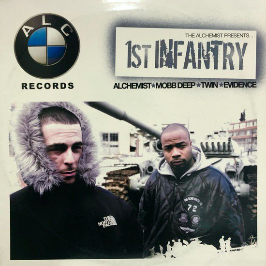 THE ALCHEMIST PRESENTS 1ST INFANTRY / THE MIDNIGHT CREEP b/w FOURTH OF JULY