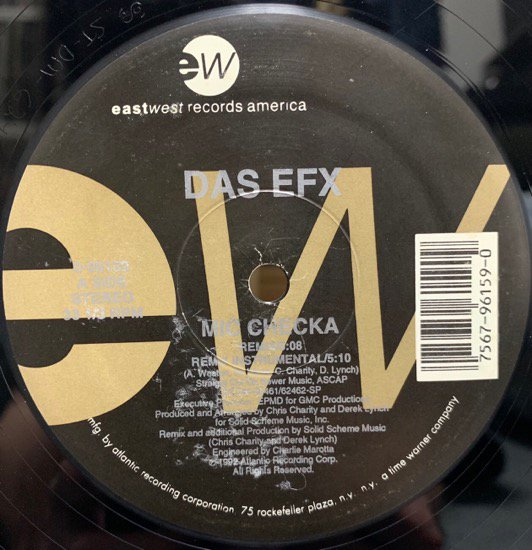 DAS EFX / MIC CHECKA / JUSSUMEN (Pete Rock Remix) (92 US ORIGINAL)