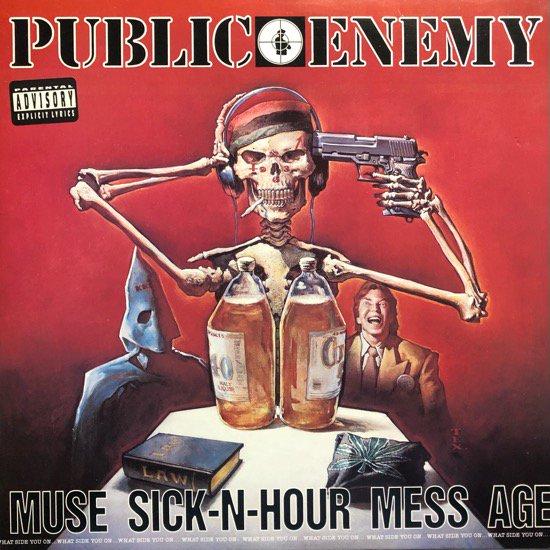 PUBLIC ENEMY / MUSE SICK-N-HOUR MESS AGE (1994 US ORIGINAL )