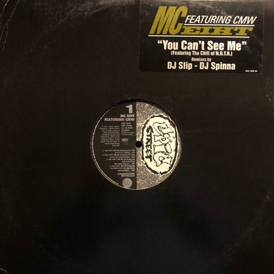 MC EIHT / YOU CAN'T SEE ME (DJ Spinna Remix) ( PROMO ONLY)