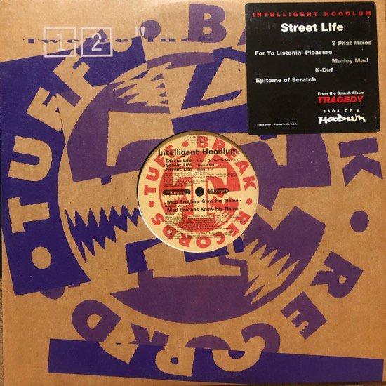 INTELLIGENT HOODLUM / STREET LIFE (1993 US ORIGINAL PROMO)