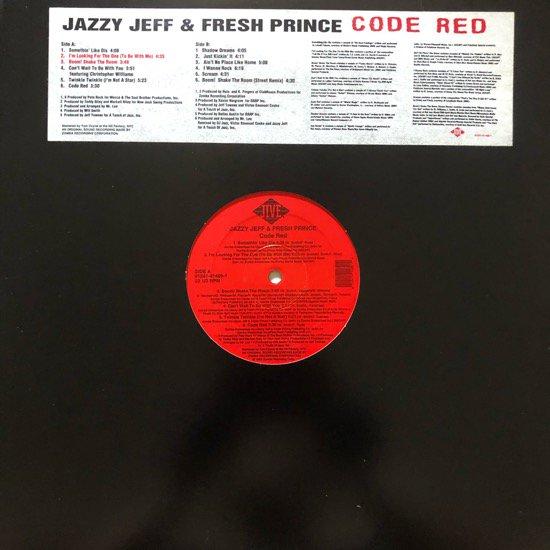 DJ JAZZY JEFF & THE FRESH PRINCE / CODE RED (1993 US ORIGINAL)