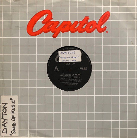 DAYTON / THE SOUND OF MUSIC (1983 UK ORIGINAL )