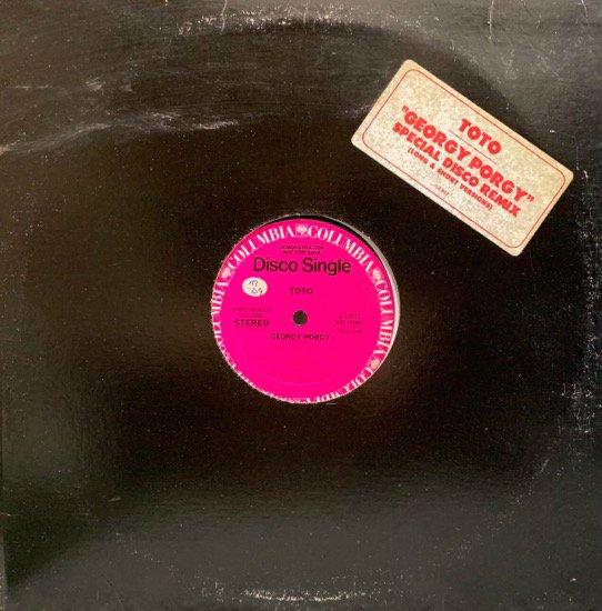 TOTO / GEORGY PORGY (SPECIAL DISCO REMIX) (1979 US ORIGINAL PROMO)