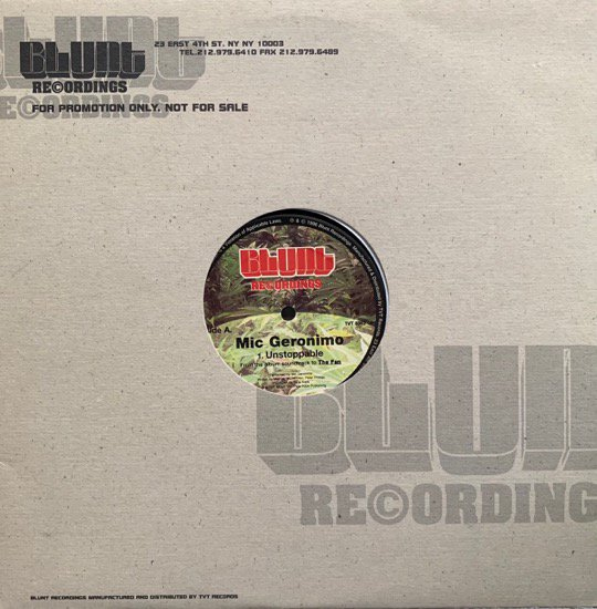 MIC GERONIMO / UNSTOPPABLE (1996 US ORIGINAL PROMO ONLY)