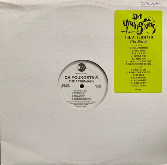 DA YOUNGSTA'S / THE AFTERMATH (THE ALBUM) (1993 US PROMO ONLY)