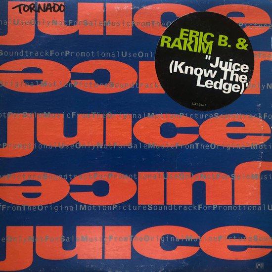 ERIC B. & RAKIM / JUICE (KNOW THE LEDGE) (1991 US ORIGINAL PROMO)