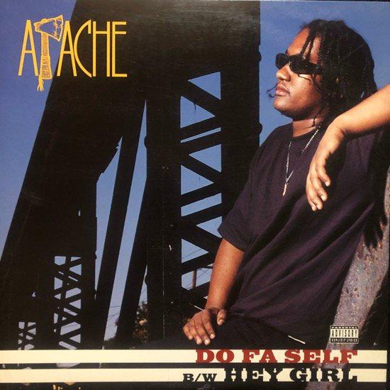 APACHE / DO FA SELF b/w HEY GIRL (1993 US ORIGINAL)