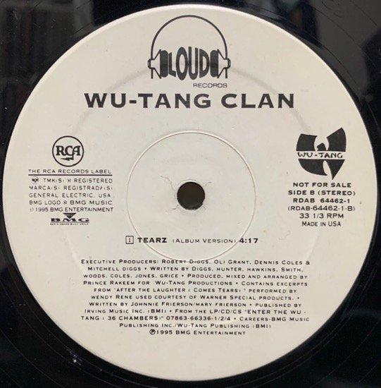 WU-TANG CLAN / PROTECT YA NECK / TEARZ (1995 US ORIGINAL PROMO)
