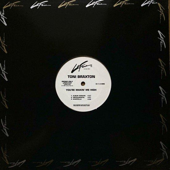 TONI BRAXTON / YOU'RE MAKIN' ME HIGH (SALAAM REMI MIXES) (98 US ORIGINAL  RARE PROMO)