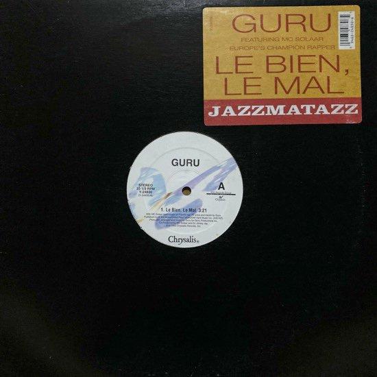 GURU FEATURING MC SOLAAR / LE BIEN, LE MAL (1993 US ORIGINAL)