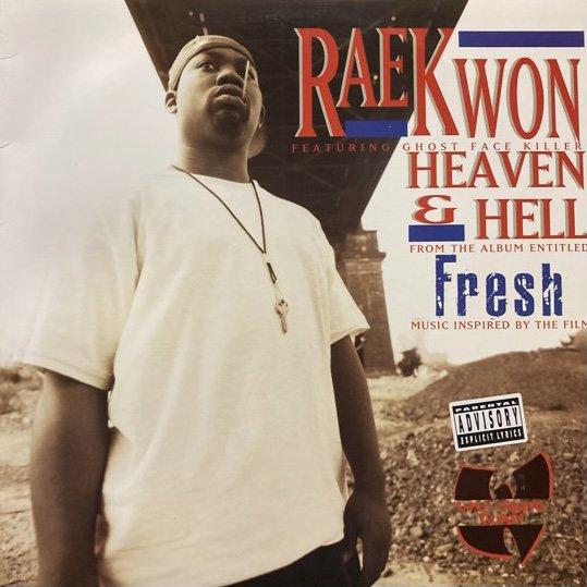 RAEKWON FEATURING GHOST FACE KILLER / HEAVEN & HELL (1994 US ORIGINAL)