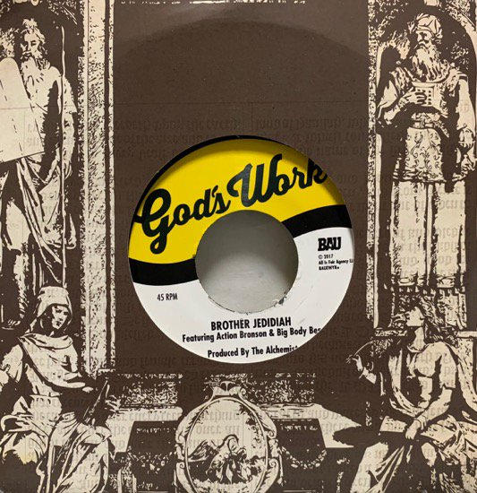 THE ALCHEMIST / BROTHER JEDIDIAH (Limited Pressing)