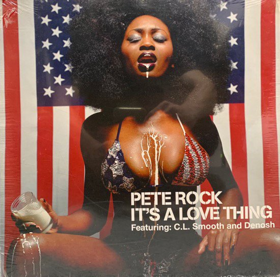 PETE ROCK / C.L. SMOOTH AND DENOSH / IT'S A LOVE THING (シールド未開封)