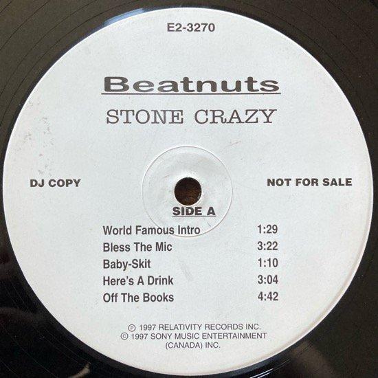 THE BEATNUTS / STONE CRAZY (1997 ORIGINAL W-PACK PROMO ONLY VERY RARE PRESSING)