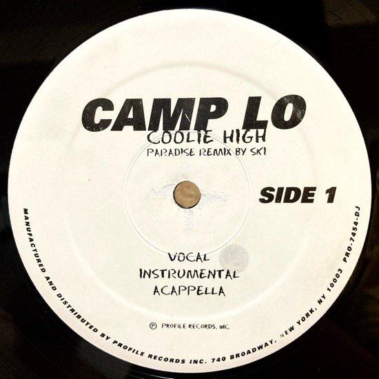 CAMP LO / COOLIE HIGH (PARADISE REMIX) (96 US ORIGINAL PROMO ONLY VERY RARE PRESSING)