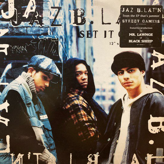 JAZ B. LAT'N / SET IT OFF (1994 US ORIGINAL)