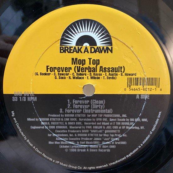 MOP TOP / FOREVER (VERBAL ASSAULT) Feat Nine b/w I'M ALRIGHT (1996 US ORIGINAL)