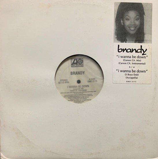 BRANDY / I WANNA BE DOWN Remix(1994 US ORIGINAL PROMO ONLY)