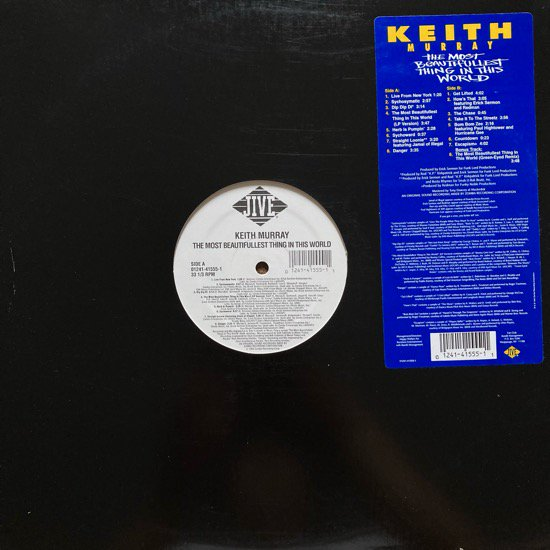 KEITH MURRAY / THE MOST BEAUTIFULLEST THING IN THIS WORLD (1994 US ORIGINAL)