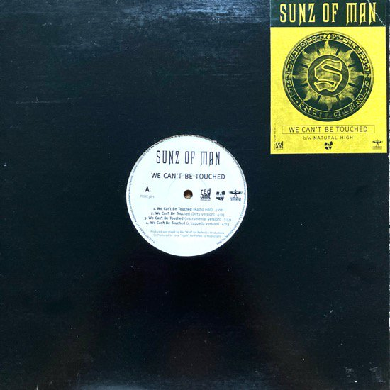 SUNZ OF MAN / WE CAN'T BE TOUCHED b/w NATURAL HIGH (PROMO)