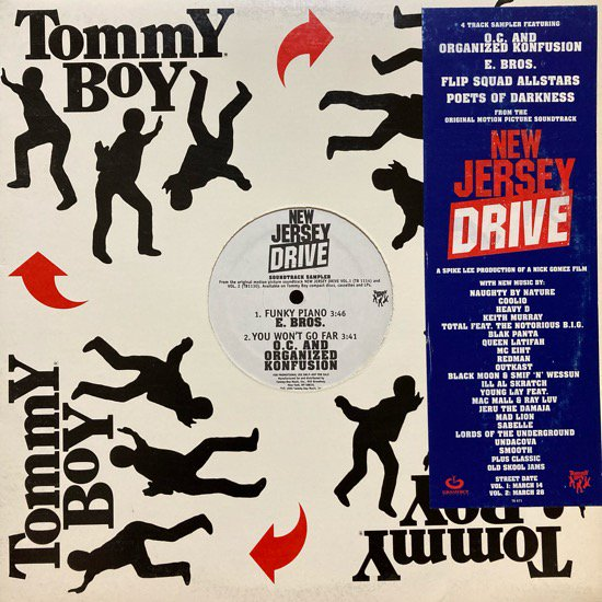 VARIOUS / NEW JERSEY DRIVE SOUNDTRACK SAMPLER (1995 US PROMO ONLY)