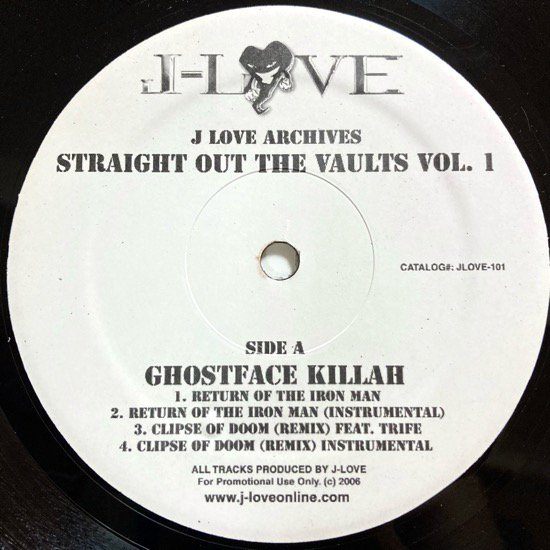 J-LOVE / J-LOVE ARCHIVES: STRAIGHT OUT THE VAULTS VOL. 1