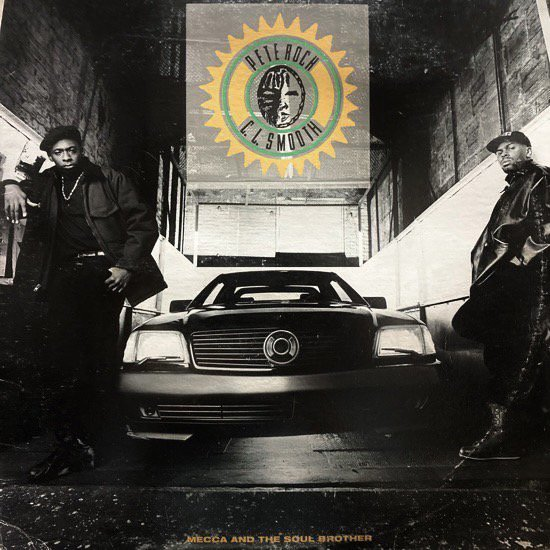 PETE ROCK & C.L. SMOOTH / MECCA AND THE SOUL BROTHER (1992 US ORIGINAL PRESSING)
