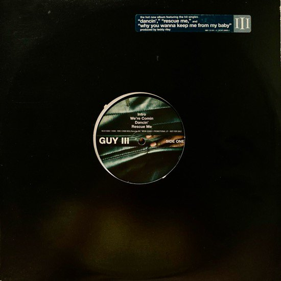 GUY / GUY III (2000 US PROMO ONLY)