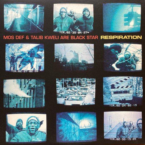 MOS DEF & TALIB KWELI ARE BLACK STAR / RESPIRATION (1999 US ORIGINAL)