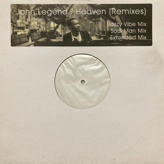 JOHN LEGEND / HEAVEN (REMIXES)
