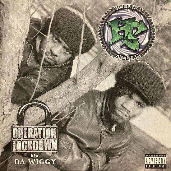 HELTAH SKELTAH / OPERATION LOCKDOWN b/w DA WIGGY (1996 US ORIGINAL)