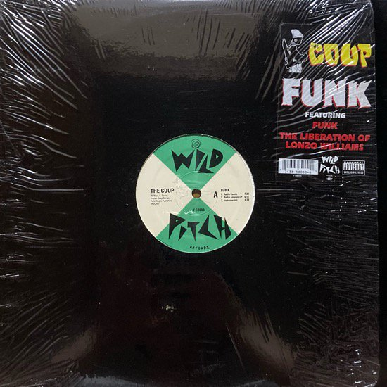THE COUP / FUNK b/w  THE LIBERATION OF LONZO WILLIAMS (1993 US ORIGINAL)