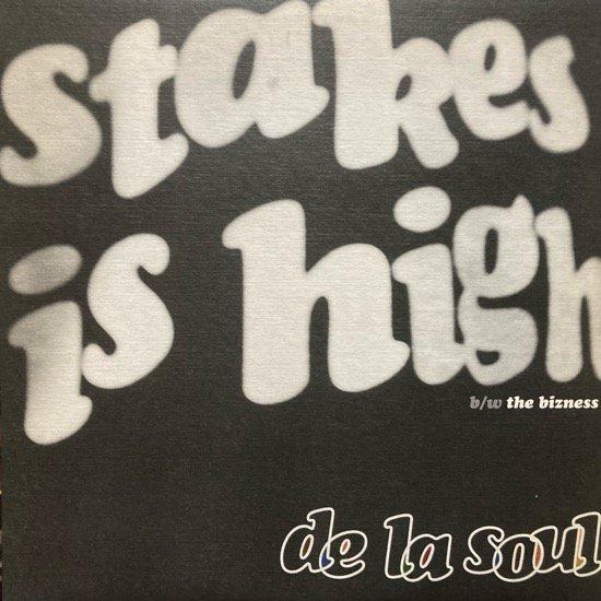 DE LA SOUL / STAKES IS HIGH (1996 US ORIGINAL)