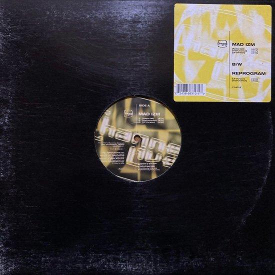 CHANNEL LIVE / MAD IZM b/w REPROGRAM (1994 US ORIGINAL PRESSING)