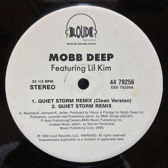 MOBB DEEP / QUIET STORM (REMIX) b/w IT'S MINE (1999 US PROMO ONLY)