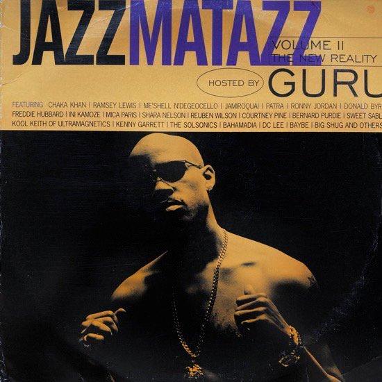 GURU / JAZZMATAZZ VOLUME II (THE NEW REALITY)(1995 US ORIGINAL)