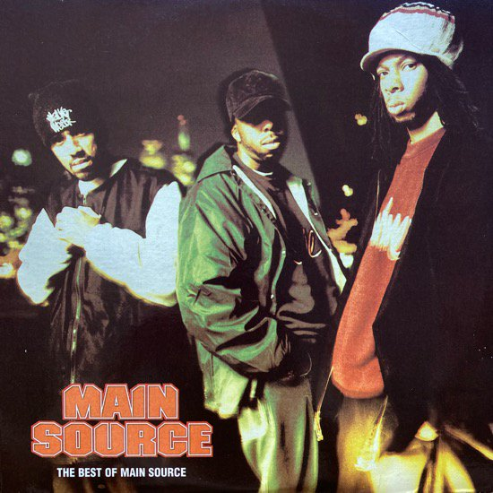 MAIN SOURCE / THE BEST OF MAIN SOURCE (1996 US ORIGINAL)